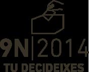 Instruccions definitives i punts de vot a l'exterior el dia 9 de novembre