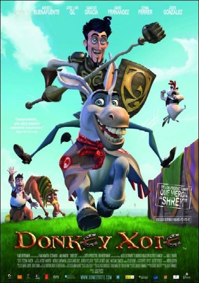 Cine Borromäum – Cine infantil: Donkey Xote