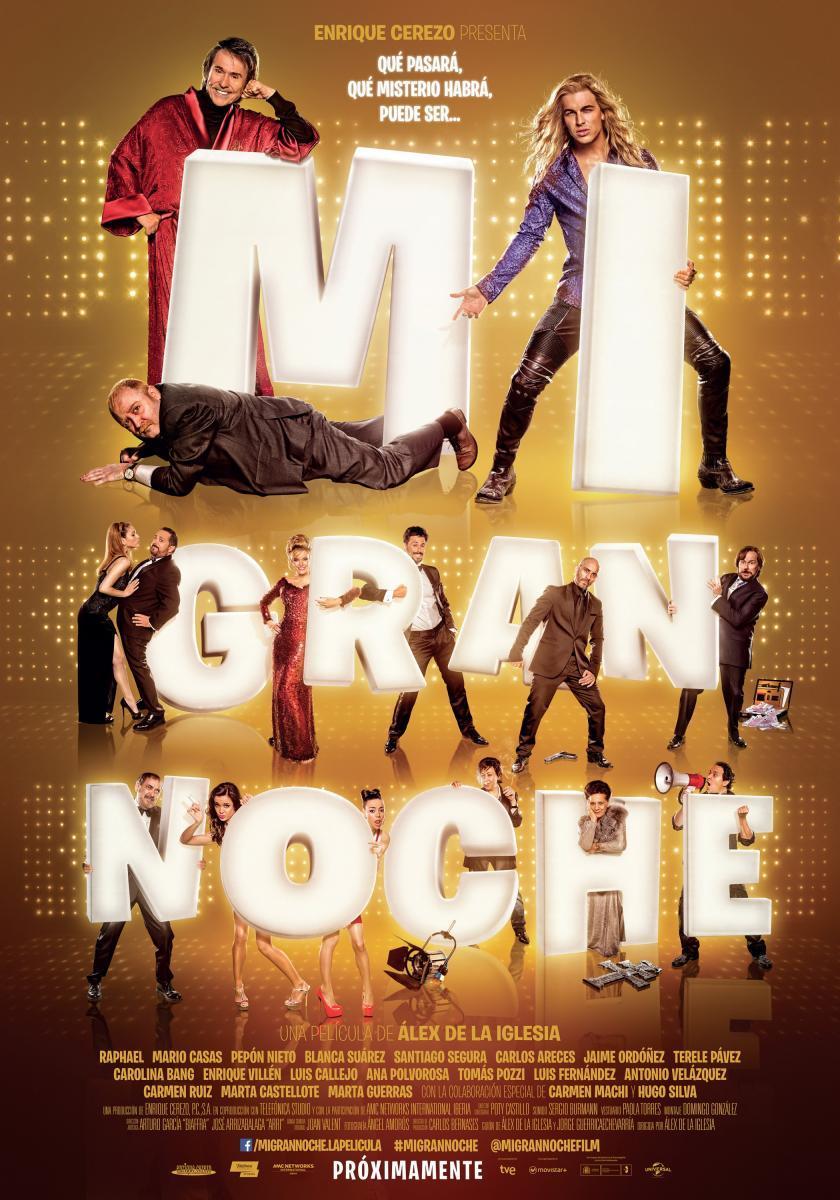 Cine Borromäum – Mi gran noche (12+)