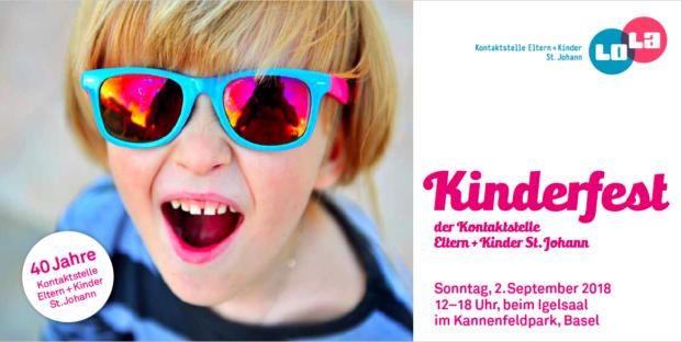 Kinderfest, beim Igelsaal im Kannenfeldpark, Basel