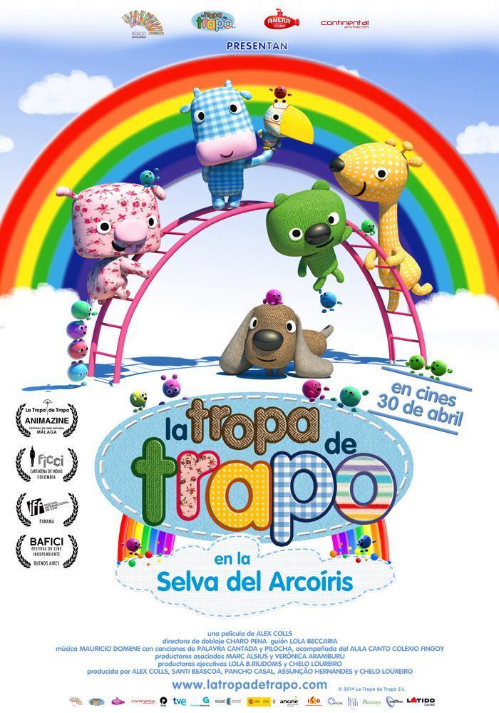 Cine Borromäum – La tropa de trapo en la selva del arcoíris